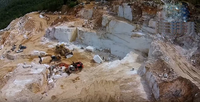 quarries marble thassos